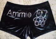 Personalised shorts with a Bear